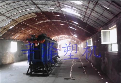山东苯板厂内实景