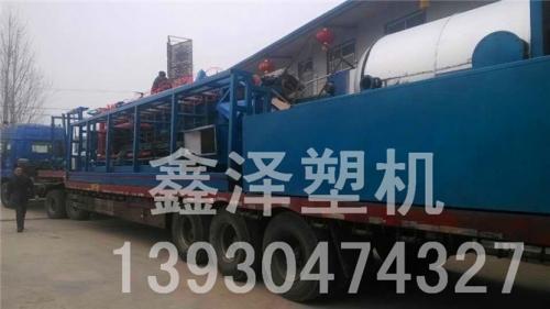 黑龙江苯板设备发货现场